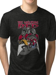 The Walking Red (Color Variant) Tri-blend T-Shirt