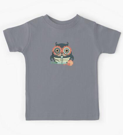 crochet hook owl paisley mustache steampunk skeleton Kids Tee