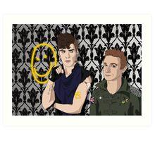 PunkLock Art Print