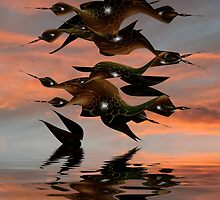 Migration - Otherwise Known as Which Way Did They Go! by Bunny Clarke