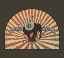 Vintage circus elephant greatest show on earth by BigMRanch
