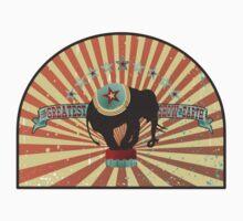 Vintage circus elephant greatest show on earth Kids Tee