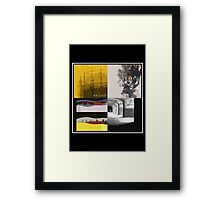 Editors Pop Art (inc. The Weight Of Your Love) Framed Print