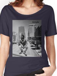 Kendrick Lamar - Alright (Music Video) Women's Relaxed Fit T-Shirt