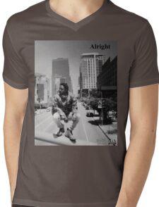Kendrick Lamar - Alright (Music Video) Mens V-Neck T-Shirt