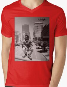 Kendrick Lamar - Alright (Music Video) Mens V-Neck T-Shirt