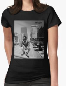 Kendrick Lamar - Alright (Music Video) Womens Fitted T-Shirt