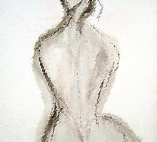 Nude Woman Back by RoyAllen Hunt