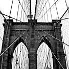 The Brooklyn Bridge by Nicole Mule'