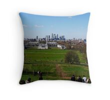 Greenwich, UK Throw Pillow