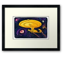 Adventure Trek / Star Time Framed Print
