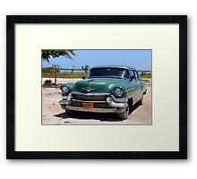 1950's Cadillac in Cuba Framed Print
