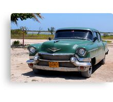 1950's Cadillac in Cuba Canvas Print