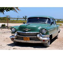 1950's Cadillac in Cuba Photographic Print