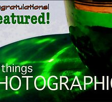 Banner Bottle Photographic by paintingsheep