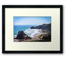 Piha Beach  Framed Print