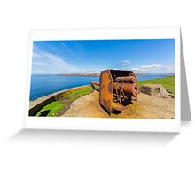 The guns of Vementry Greeting Card