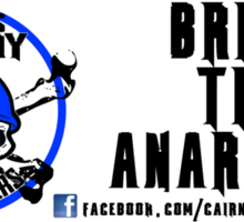 Cairns Anarchy Mens Rollers - Bring The Anarchy Sticker