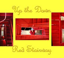 Up The Red Stairway by aprilann