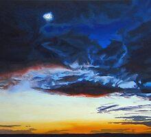 Twilit Winter Sky by eastcorkpainter