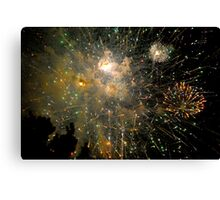 Fireworks - Fourth of July Canvas Print