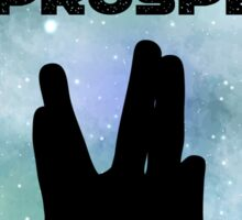 Live Long & Prosper Sticker