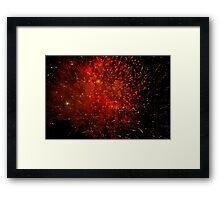 Fireworks - Fourth of July Framed Print