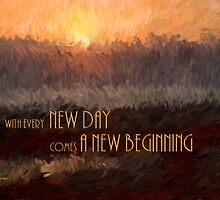New Beginning Card by Doreen Erhardt
