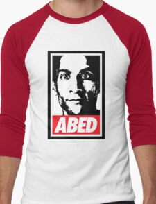 OBEY ABED, COOL? Men's Baseball ¾ T-Shirt