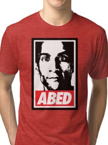 OBEY ABED, COOL? Tri-blend T-Shirt