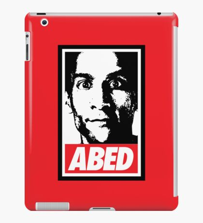 OBEY ABED, COOL? iPad Case/Skin