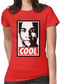 OBEY ABED, COOL? (variant) Womens Fitted T-Shirt