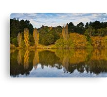 Lake Daylesford in Autumn Victoria Australia Canvas Print