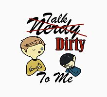 Talk Nerdy To Me (Kirk Edition) Unisex T-Shirt