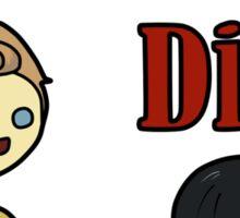 Talk Nerdy To Me (Kirk Edition) Sticker