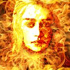 Daenerys Targaryen, Bride of Fire, Mother of Dragons by TheDigArtisT