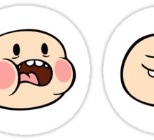 Finn's Faces Sticker
