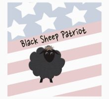 Black Sheep Patriot, USA Kids Tee