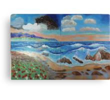 Golden Beach 1, 2 Canvas Print