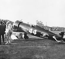 Wedell-Williams Air Service Racer circa 1930 by Henri Bersoux