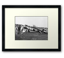 Wedell-Williams Air Service Racer circa 1930 Framed Print