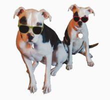 Nothings merrier than a Pitbull Terrier! by Mcflytrek