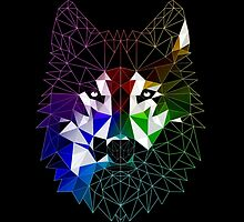 Geometric Wolf by mdanielle1991
