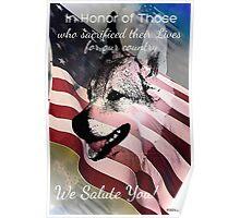 We Salute You Memorial Day 2013 Poster