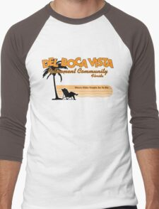 Del Boca Vista (Color Print) Men's Baseball ¾ T-Shirt
