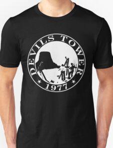 Devils Tower, 1977 (White Print) T-Shirt