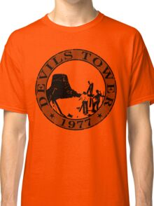 Devils Tower, 1977 (Grey Print) Classic T-Shirt