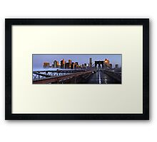 The Big Apple, New York Framed Print
