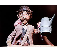 Puppetry Adjustment Photographic Print