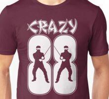 Crazy 88 (White Print) Unisex T-Shirt